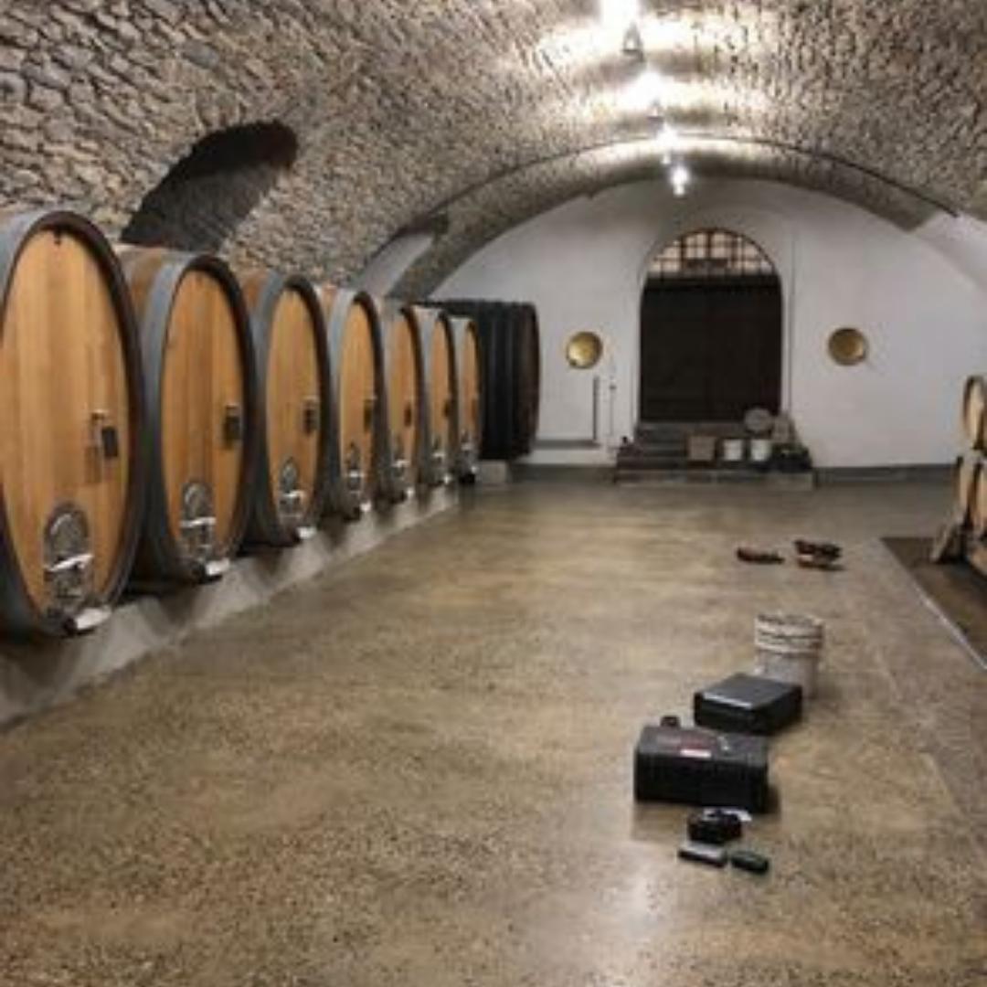 Betonschleifen Weingut